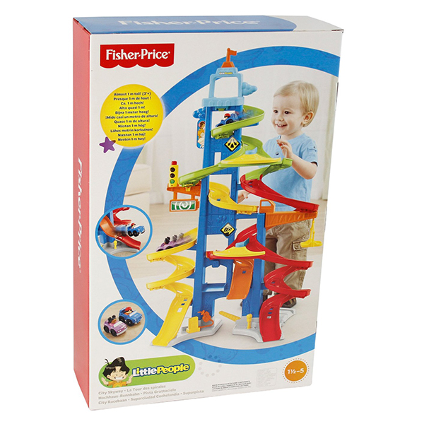 Pista Grattacielo Little People Fisher Price | Massa giocattoli