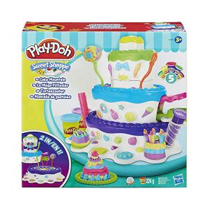 Torta Pasticciona Play-Doh| Massa Giocattoli