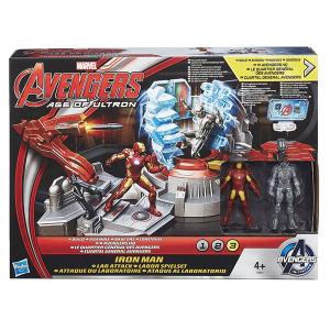 Attacco al laboratorio Iron Man| Massa Giocattoli