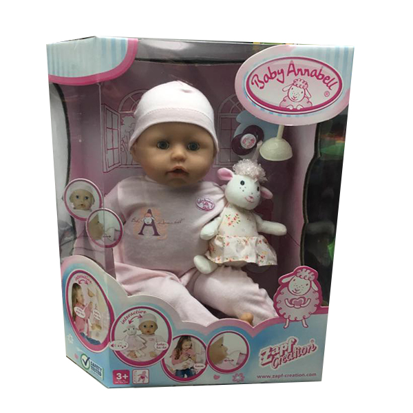 Manichino per Baby ANNABELL BAMBOLA INTERATTIVA