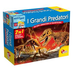 I Grandi Predatori 2 in 1 Lisciani | Massa Giocattoli