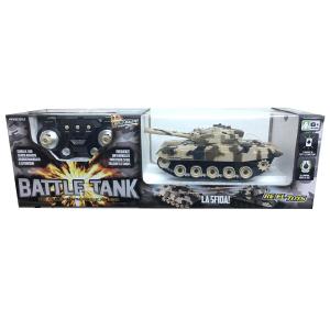 Carro Armato Radiocomandato Battle Tank   Massa Giocattoli