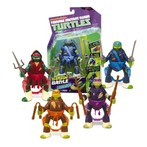Tartarughe Ninja Turtles Throw'n Battle | Massa Giocattoli