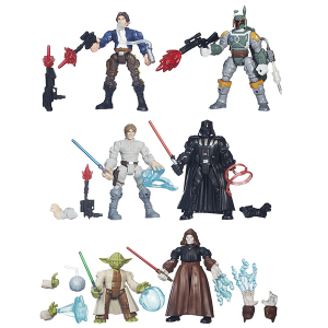 Star Wars Hero Mashers Battle Pack | Massa Giocattoli