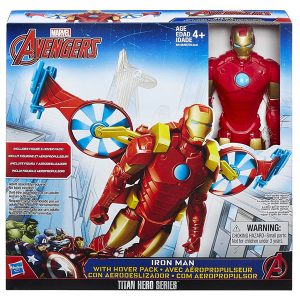 Iron Man Hover Pack Titan Hero Series | Massa Giocattoli
