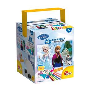 Frozen The Castle Puzzle Double Face | Massa Giocattoli