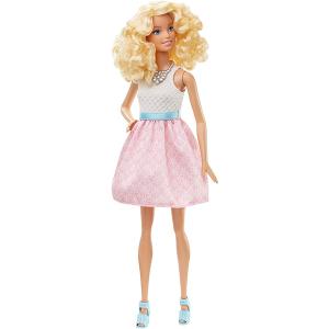 Barbie Fashionistas 14 Abito Rosa/Bianco DGY57 | Massa Giocattoli