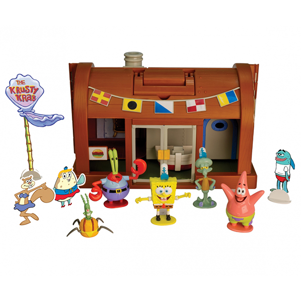 Spongebob krusty krab playset massa giocattoli