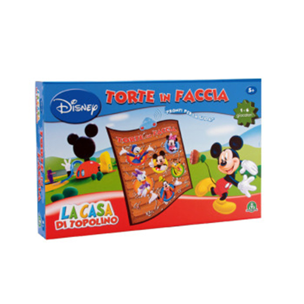 Mickey Mouse Club House Torte in Faccia