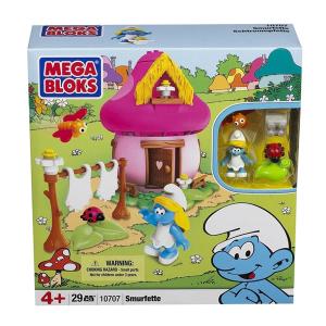 Mega Bloks 10709 Casa Grande Puffo | Massa Giocattoli