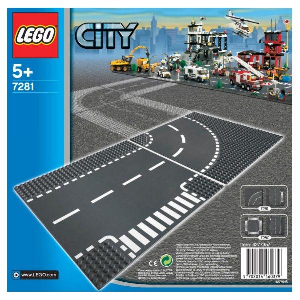 Lego City 7281 Incrocio a T e Curva