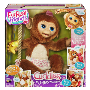 Cuddles Giggly Monkey Furreal Friends | Massa Giocattoli