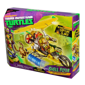 Tartarughe Ninja Shell Flyer Veicoli Base | Massa Giocattoli