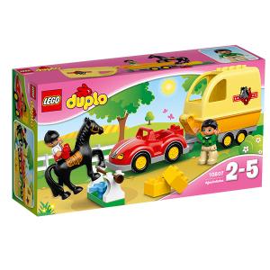 Lego Duplo 10807 Cavallo e Rimorchio | Massa Giocattoli