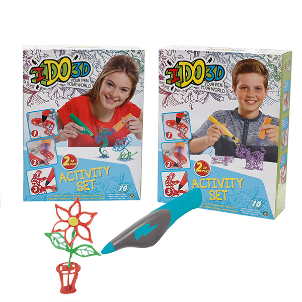 IDO3D Activity Set – Penna per Creazioni 3D