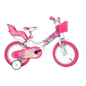 Bicicletta Barbie 16'' Dino Bikes | Massa Giocattoli