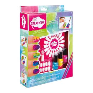 Unghie Marmorizzate Crayola Creations | Massa Giocattoli