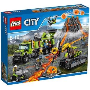 Lego City 60124 Base delle Esplorazioni Vulcanica | Massa Giocattoli