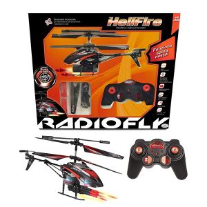 Elicottero Radiofly Helfire Spara Missili | Massa Giocattoli