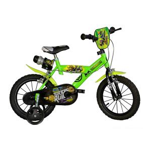 "Bicicletta Ninja Turtles 16"" Dino Bikes | Massa Giocattoli"