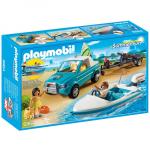 Playmobil 6864 Surfisti Con Pick Up e Motoscafo