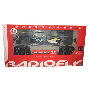 Radiofly MayDay Coppia Elicotteri | Massa Giocattoli