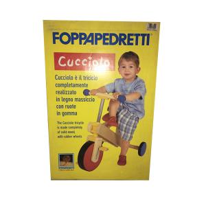Triciclo Cucciolo Foppapedretti | Massa Giocattoli