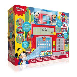 Stazione Pompieri Mickey Mouse   Massa Giocattoli