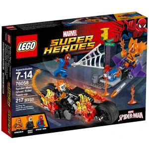 Lego Super Heroes 76058 Spider Man: Ghost Rider Si Allea   Massa Giocattoli