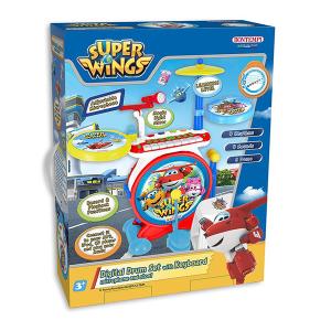 Super Wings Batteria Elettronica Bontempi | Massa Giocattoli
