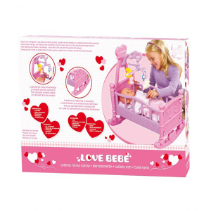 Lettino Love Bebè | Massa Giocattoli