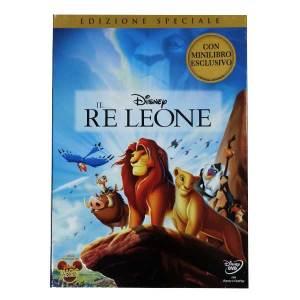 Dvd Il Re Leone Con Minilibro Esclusivo - Massa Giocattoli