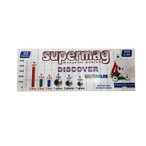 Supermag Multicolor Magnetic Genius | Massa Giocattoli