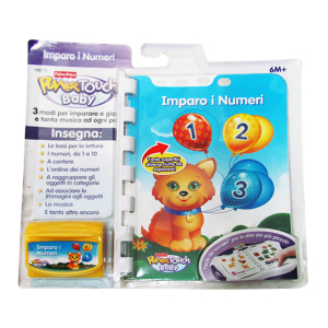 Libro Power Touch Baby - Imparo i Numeri Fisher-Price | Massa Giocattoli