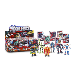 Set Completo Kombo Force Mini Action Figures Giochi Preziosi|Massa Giocattoli