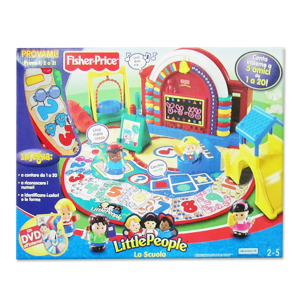 Little People La Scuola Fisher-Price|Massa Giocattoli