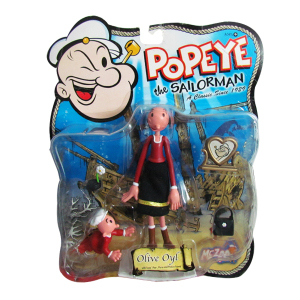 Olive Oyl Popeye the Sailorman|Massa Giocattoli