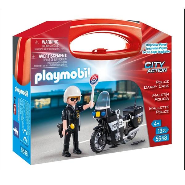 Playmobil 5648 Valigetta Polizia