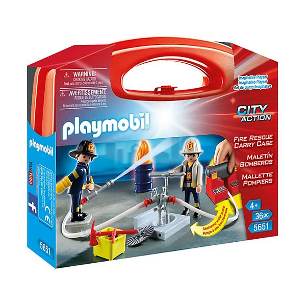 Playmobil 5651 Valigetta Grande Pompieri