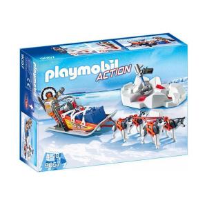 Playmobil 9057 Slitta con Husky|Massa Giocattoli