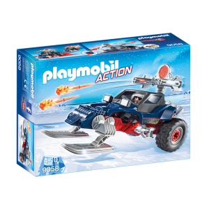 Playmobil 9058 Predatore con Motoslitta|Massa Giocattoli