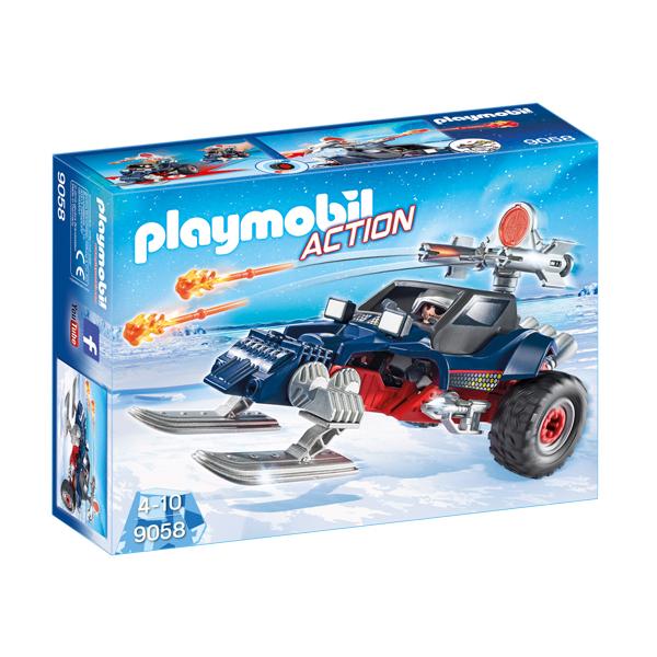 Playmobil 9058 Predatore con Motoslitta
