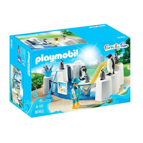 Playmobil 9062 Vasca dei Pinguini