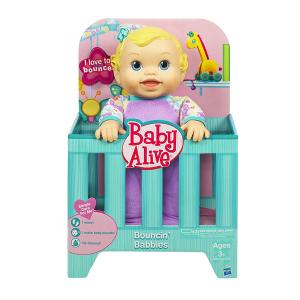 Baby Alive Bouncin' Babbles Bambola|Massa Giocattoli