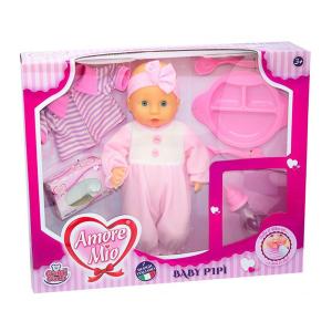 Bambola Baby Pipì Amore Mio |Massa Giocattoli