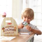 Banco del gelato in legno Melissa & Doug Massa Giocattoli