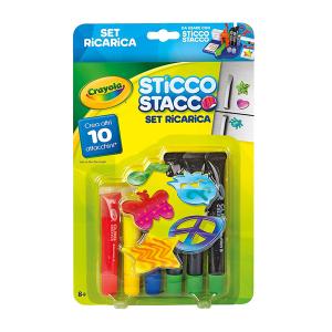 Sticco Stacco Set Ricarica|Massa Giocattoli