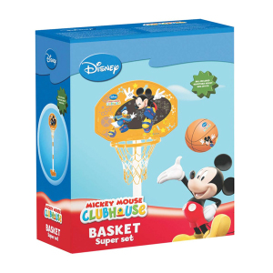 Basket Super Set Mickey Mouse|Massa Giocattoli