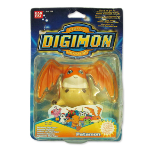 Patamon Digimon Digital Monsters|Massa Giocattoli