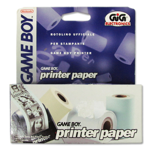 Game Boy Printer Paper|Massa Giocattoli